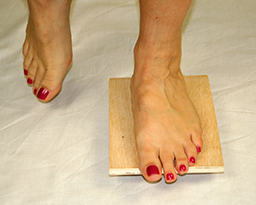 Balance on Ankle Board