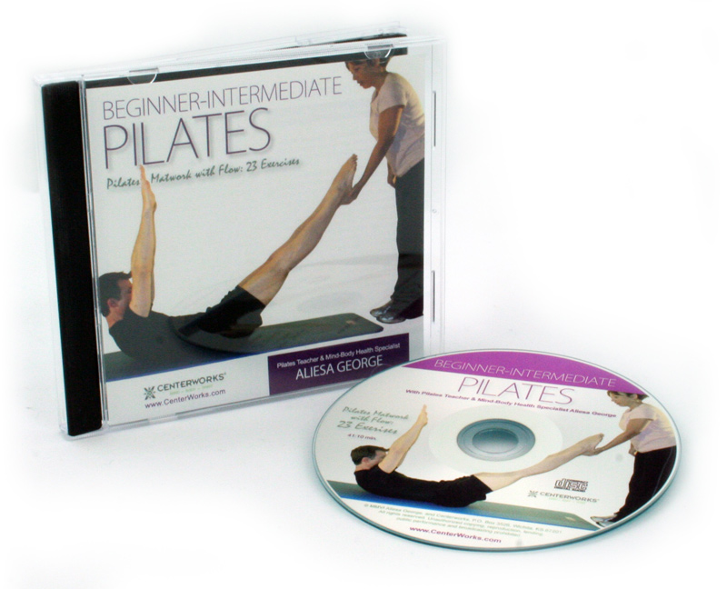 Beginner-Intermediate Pilates Matwork with Flow: 23 Exercises