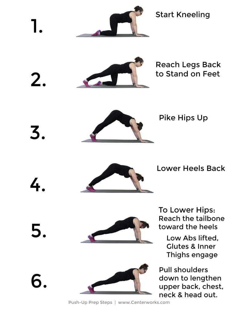 Push-up exercises