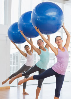 Pilates group training