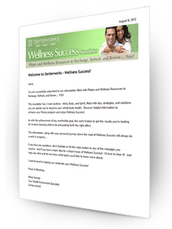 Wellness Success Newsletter