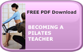 Becoming a Pilates Teacher PDF