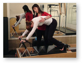 Pilates is the whole-body commitment to whole-body health!