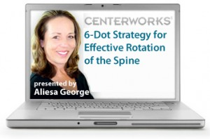 6-Dot Strategy for Effective Rotation of the Spine