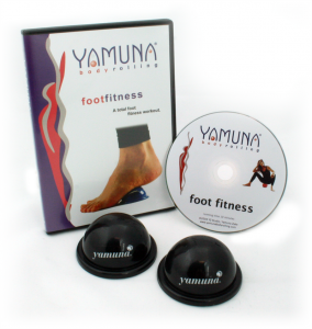 Yamuna Foot Savers with DVD