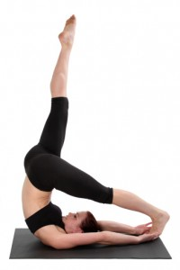 Advanced Pilates Exercise - Control Balance