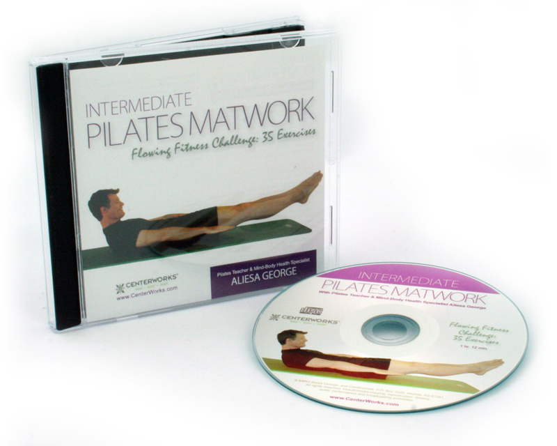 Intermediate Pilates Matwork Flowing Fitness Challenge: 35 Exercises