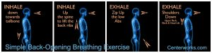 Simple Breathing Exercise to Help Eliminate Back Pain