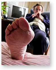 An anecdote of how Pilates has helped a client with foot issues.